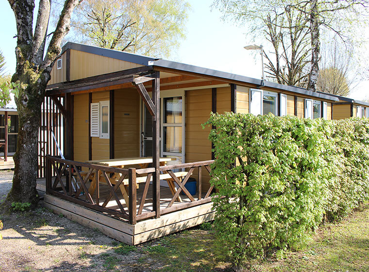 Gitotel-chalet 5 personen camping Val d'Amour