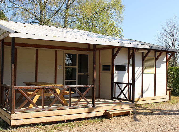 Gitotel-chalet 6 personen camping Val d'Amour
