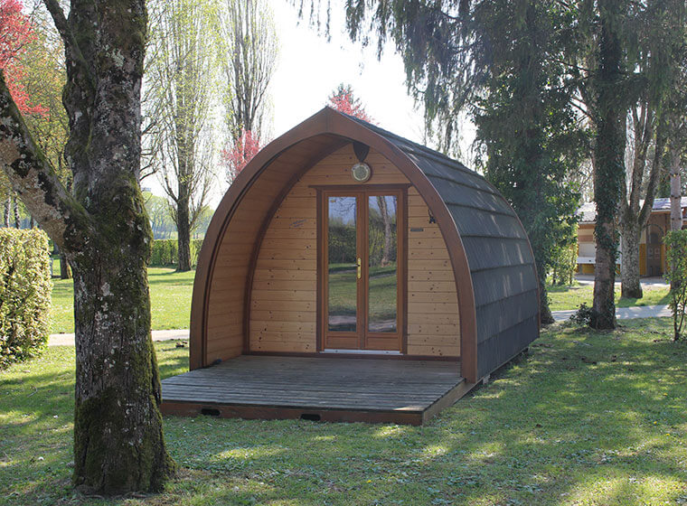 Nid'Amour : Unusual accommodation in the Jura
