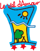 Camping le Val d'Amour logotype located in Ounans