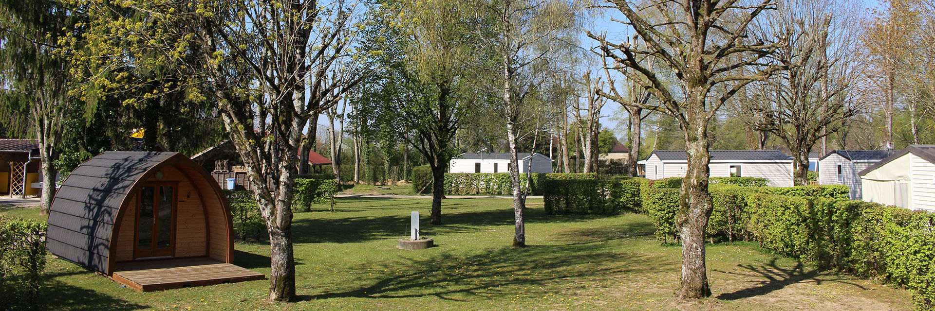 Mobile home, chalet and tent rental in the Jura