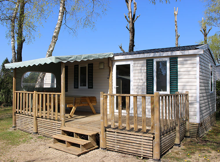 Mobil-home Super Titania camping Val d'Amour