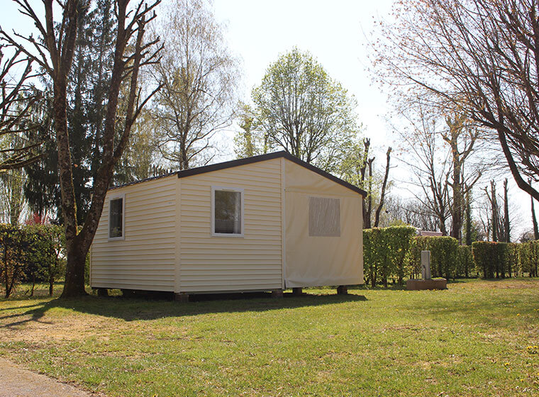 Tithome mobile home camping Vald'Amour in the Jura